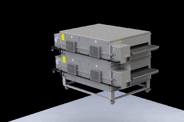 XLT 3880 DS Conveyor Oven Rear Left